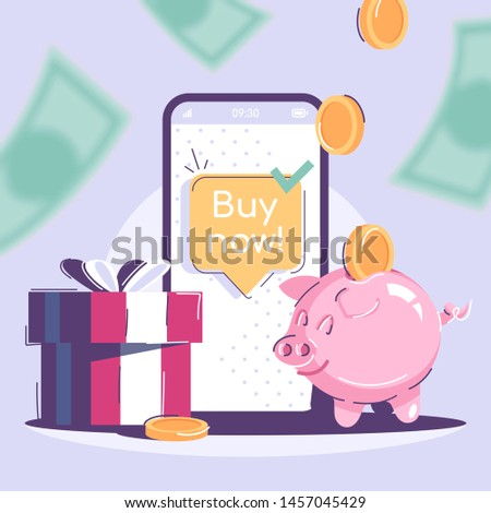 buy now social media post