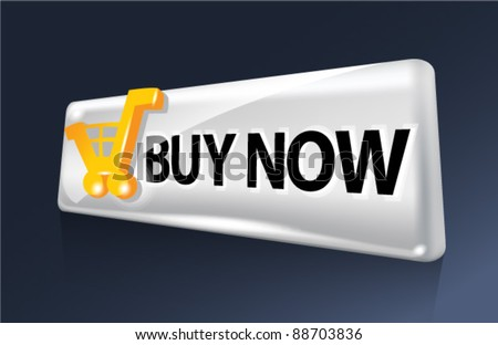 Buy now. Web vector button.