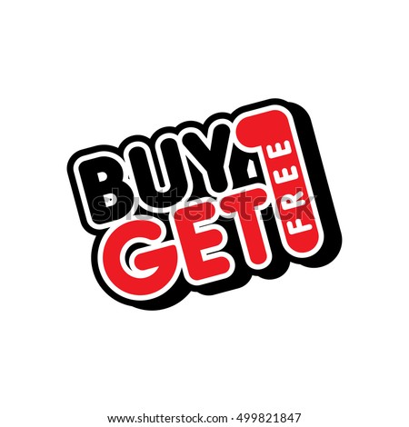 buy one get free sale promo
