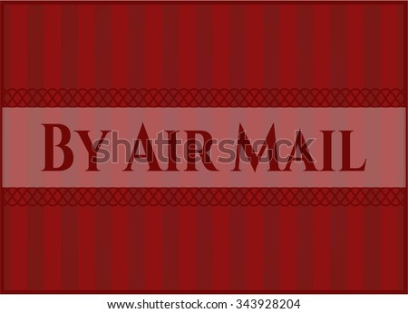 By Air Mail banner