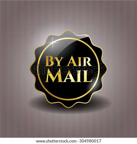 By Air Mail black badge