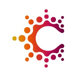 C abstract Logo