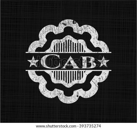 Cab chalk emblem