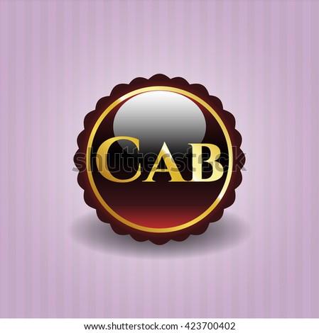 Cab golden badge