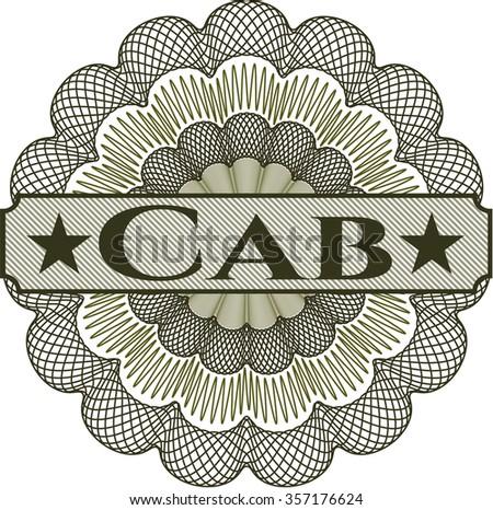 Cab money style rosette