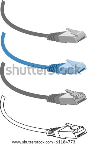 cable rj45, Patch Cord Cable, logo design