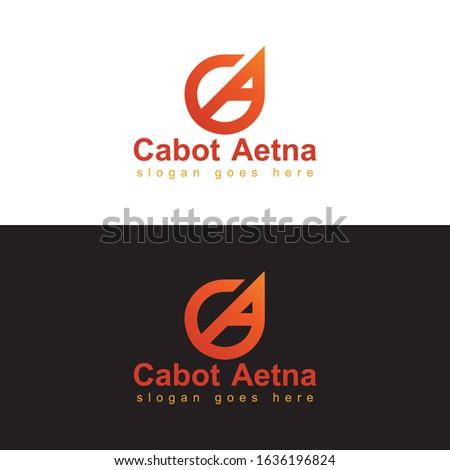 Cabot Aetina Branding logo design template