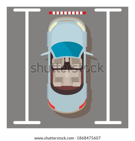 Cabriolet car icon. Isometric illustration of cabriolet car vector icon for web