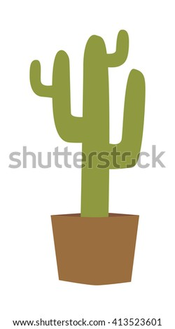 cactus isolated vector