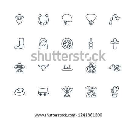 Mexcican Outline Icons - Download Free Vector Art f3353cb77522