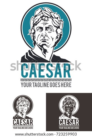 caesar is a template logo in