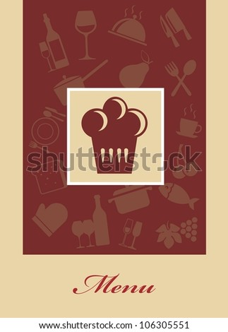 Cafe menu - stock vector
