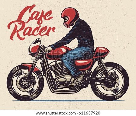 Cafe Racer Download Free Vector Art Stock Graphics Images