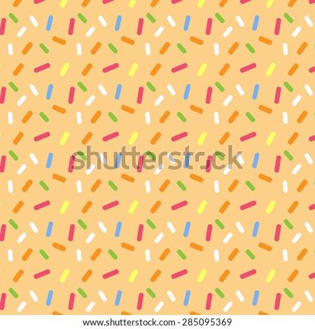 Cake glaze seamless pattern