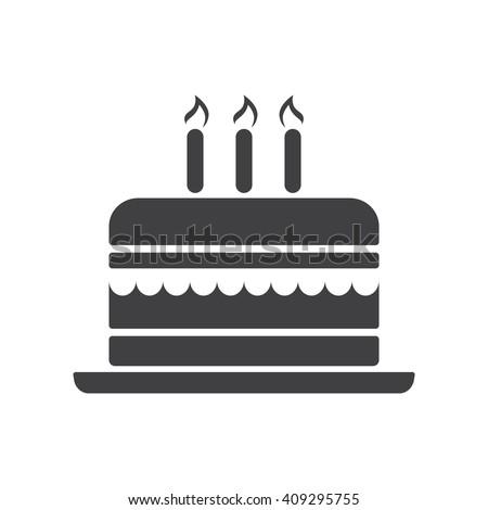 cake icon  cake icon eps10