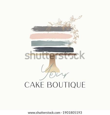 cake logo design  bakery logo