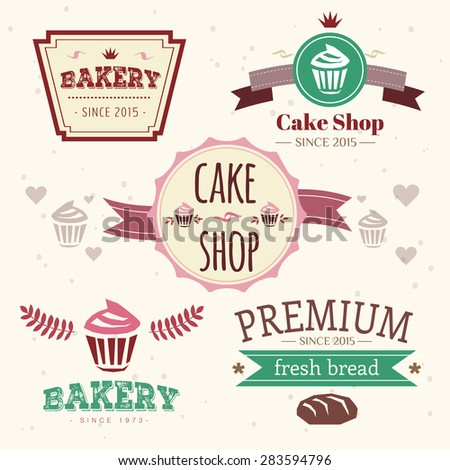 cakes logo design elements