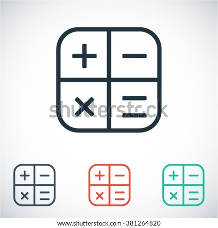 Calculator  icon,