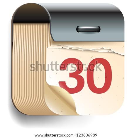 Calendar Date Vector Calendar Date Icon