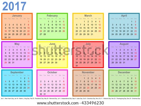 Year 2017 Calendar – South Africa - Time and Date