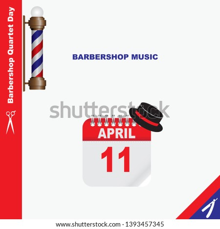 Calendar Event - Barbershop music Barbershop Quartet Day