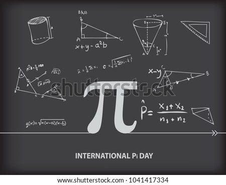 Calendar event of March - International Day of the Number of Pi
