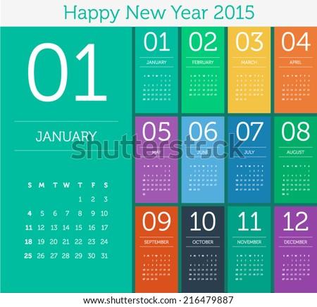 stock-vector-calendar-flat-design-color