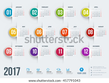 stock-vector-calendar-for-year-vector-design-stationery-template-week-starts-sunday-flat-style-color