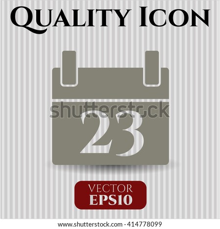 Calendar high quality icon