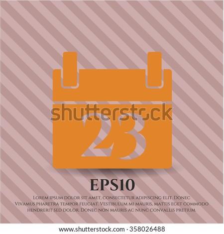 Calendar icon or symbol