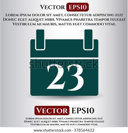 Calendar icon vector illustration