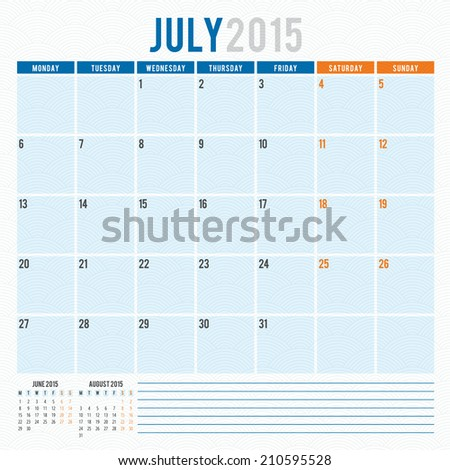 stock-vector-calendar-july-vector-design-template