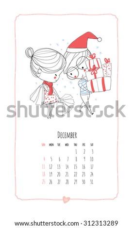 calendar 2016 loving boy and