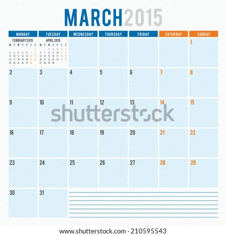Search results for 2015 march calendar template i can for Calendar template that you can type in