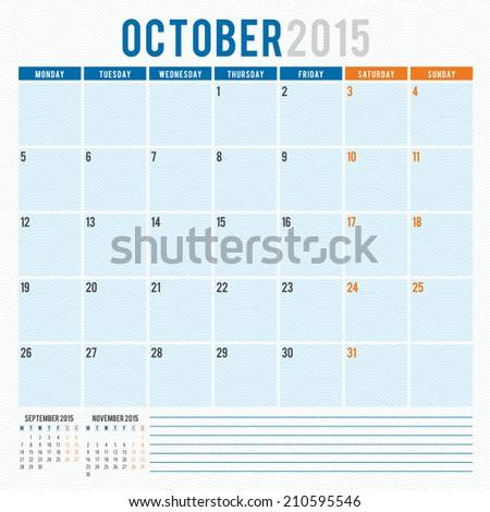 stock-vector-calendar-october-vector-design-template