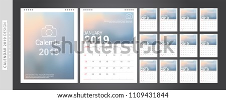 stock-vector-calendar-set-desk-calendar-template-design-with-place-for-photo-and-company-logo-week-starts