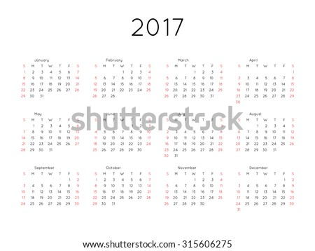 stock-vector-calendar-year-simple-style-week-starts-from-sunday
