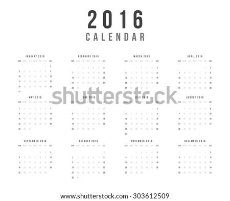 stock-vector-calendar-year-vector-design-template-minimalism-style