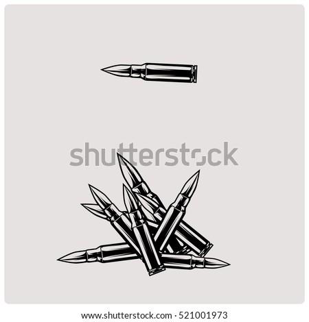 caliber bullet black