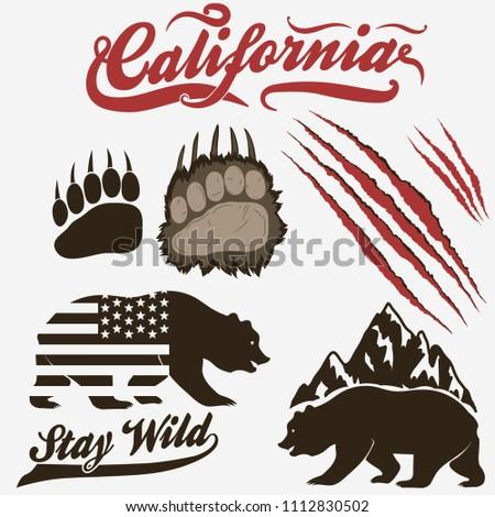 california bear  grizzly