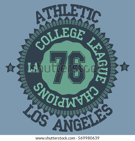 Royalty Free College Champs Athletics League Sport