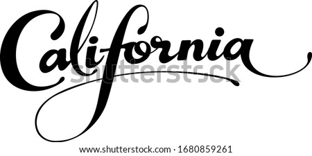 california   custom calligraphy