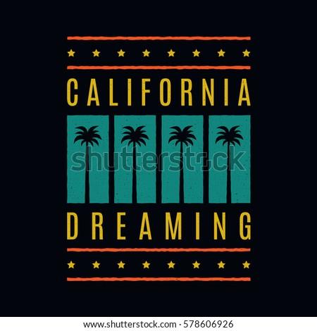 california dreaming. retro...