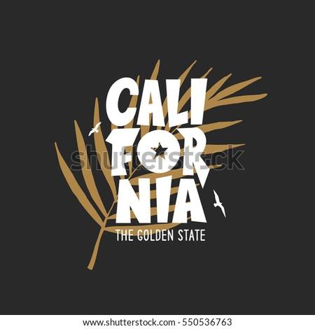 california golden state t shirt