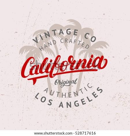 california hand written...