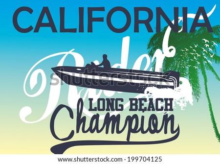 california long beach and boat