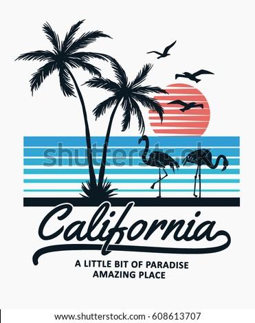 california print design for t