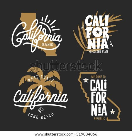 california related t shirt