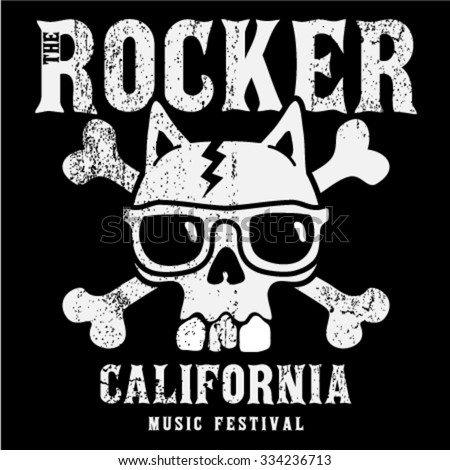california rock and roll music