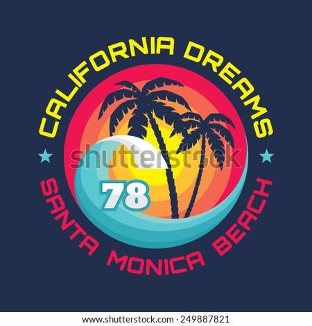 california   santa monica beach